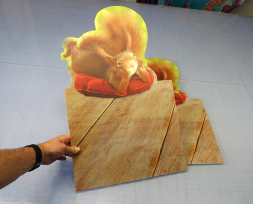 progra - Hohlkammerplatten mit Druck