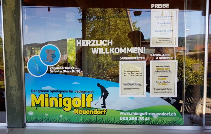 progra - Minigolf Neuendorf für Spass und Spiel