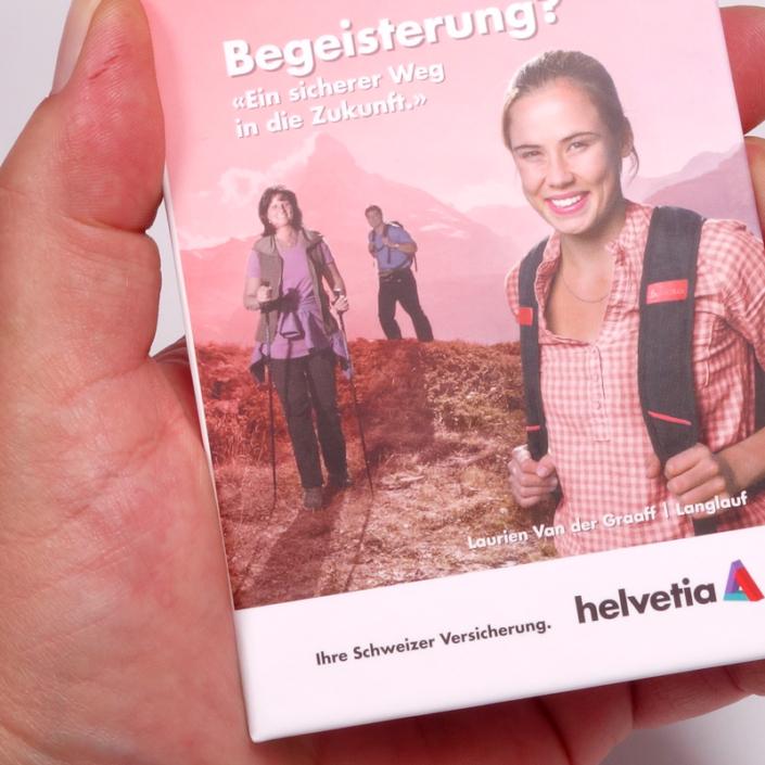 progra - Booklet für die Helvetia Versicherungen