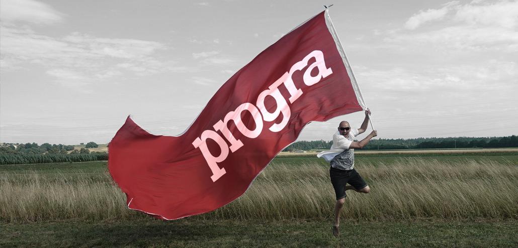progra - Wir schreiben Werbung gross auf unsere Fahne