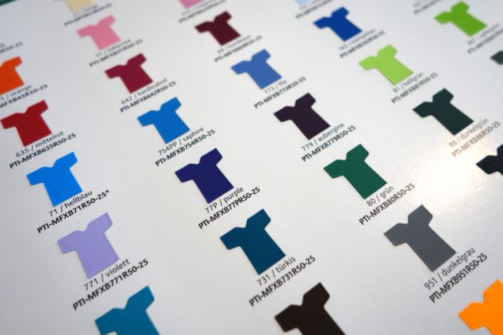 progra - Transferfolie in diversen Farben für jeden Zweck