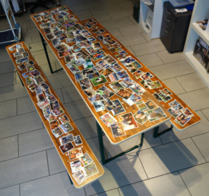 progra - Bedruckter Tisch Festbank Biertisch