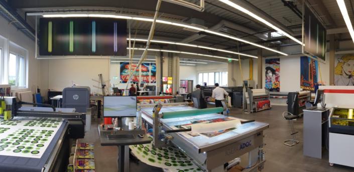 progra die Druckerei in Oensingen zu Besuch bei der Igepa Adoc in Fulenbach