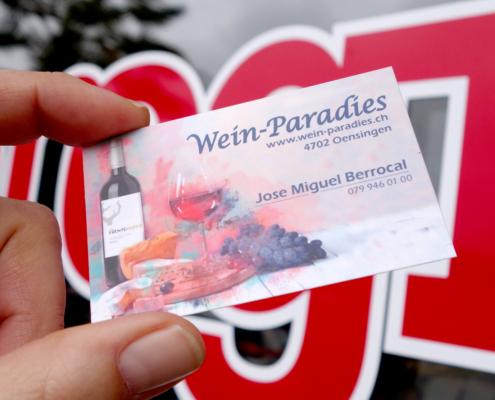 progra - Wir gestalten und drucken Visitenkarten