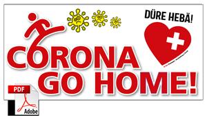 corona - go home Vorlage PDF