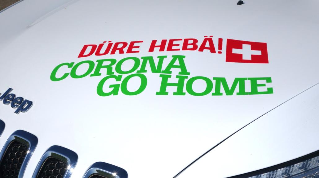 Das Anti Corona Auto aus Oensingen