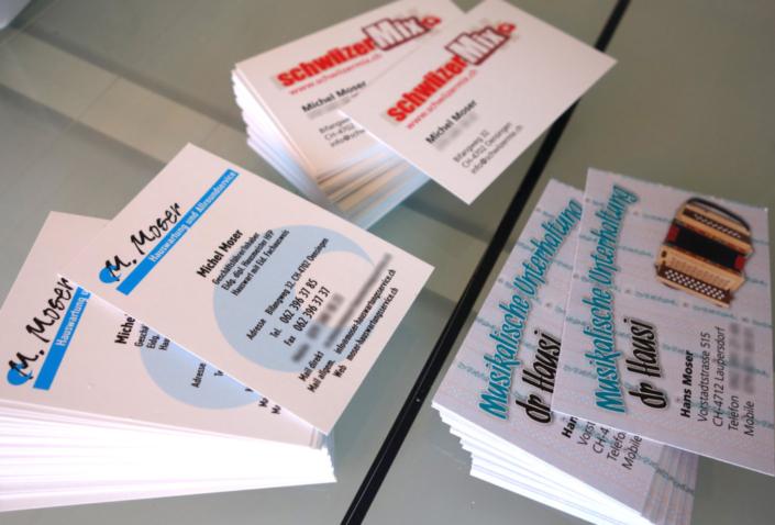 progra - Druck von Visitenkarten, Ihre Druckerei in Oensingen