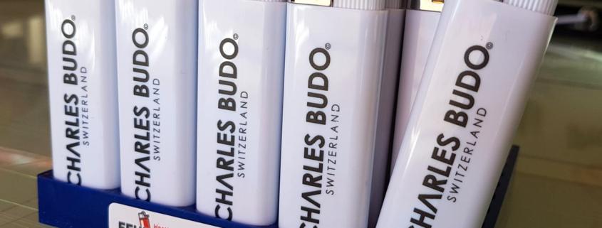 progra - Werbefeuerzeuge mit Druck aus Oensingen
