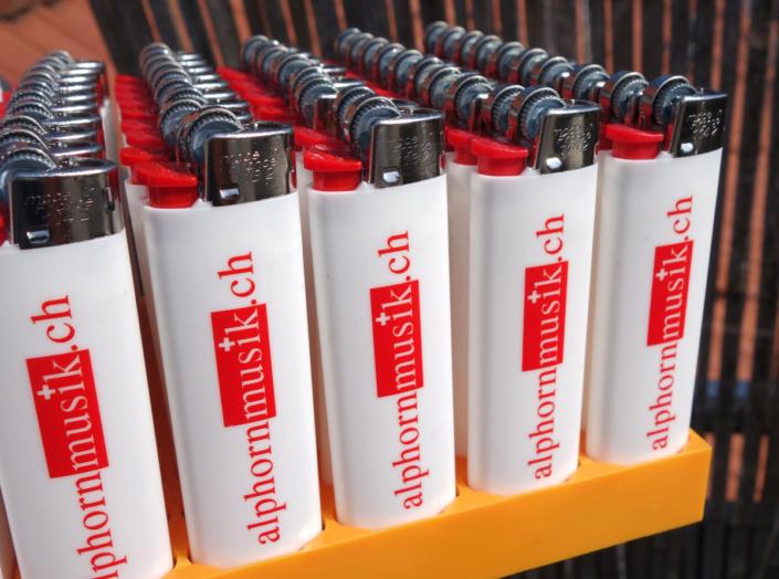 progra - Werbefeuerzeuge mit Druck in Oensingen