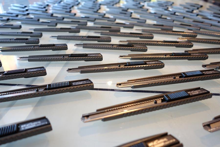 NT Cutter Japanmesser mit Lasergravur / Oensingen
