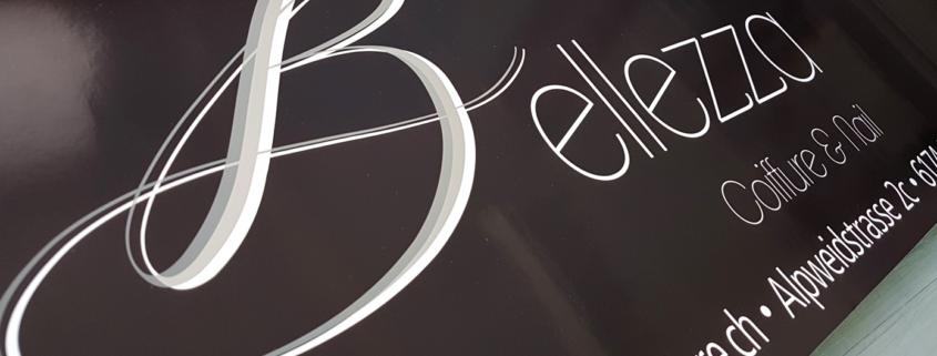 Schaufenster Beschriftung Fimenbeschriftung Oensingen