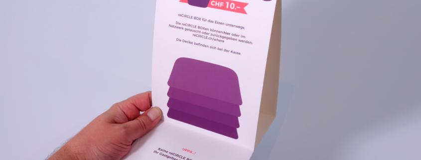 Karton-Steller und Display - Die Kartonage mit Druck