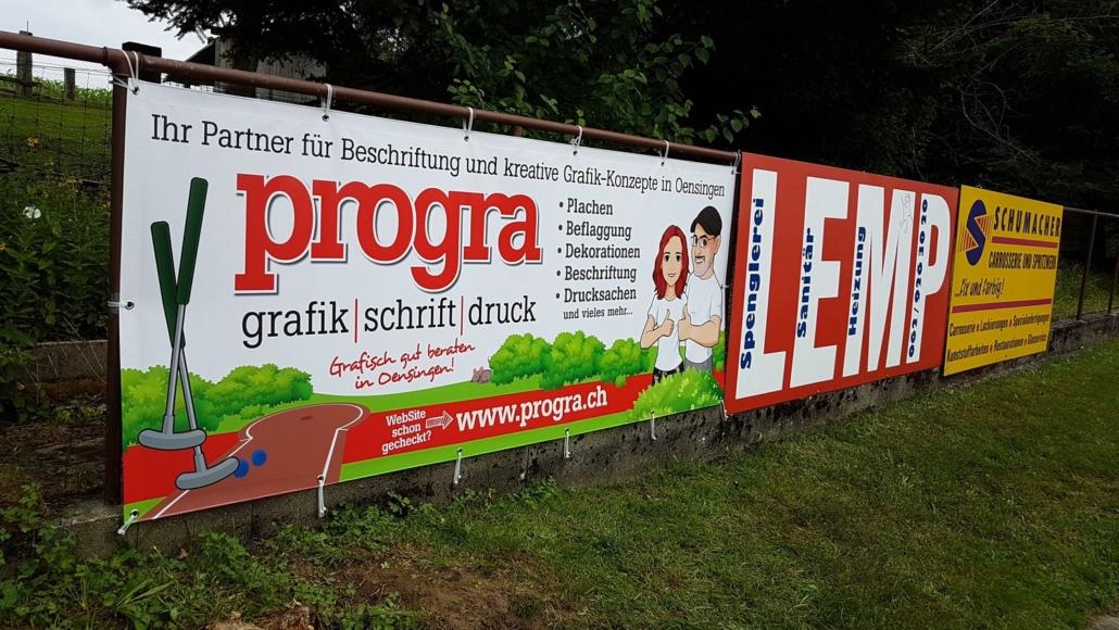 Minigolf Neuendorf - Wir machen Werbung zum Spiel
