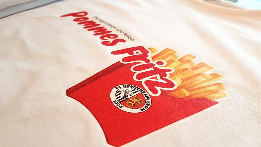 FC Breitenrain Fussball Club - Druck von Shirts von der progra Oensingen