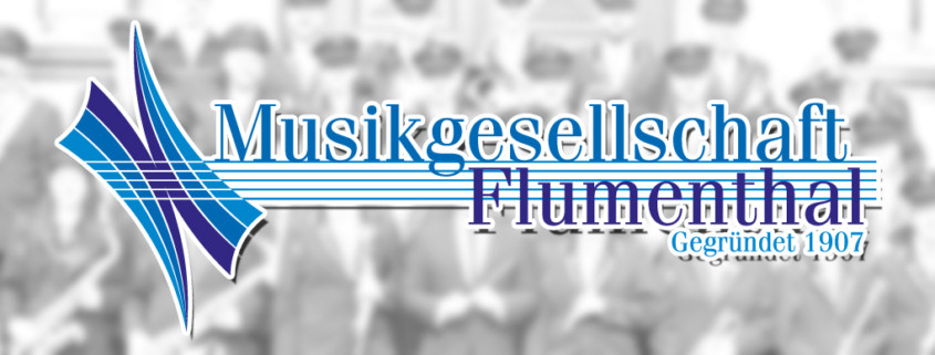Musikgesellschaft Flumenthal Logo Gestaltung