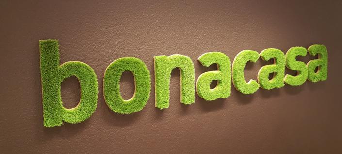 progra - Ein Logo ganz aus Gras