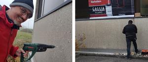 Blache für Fassade und Hauswand - progra Oensingen