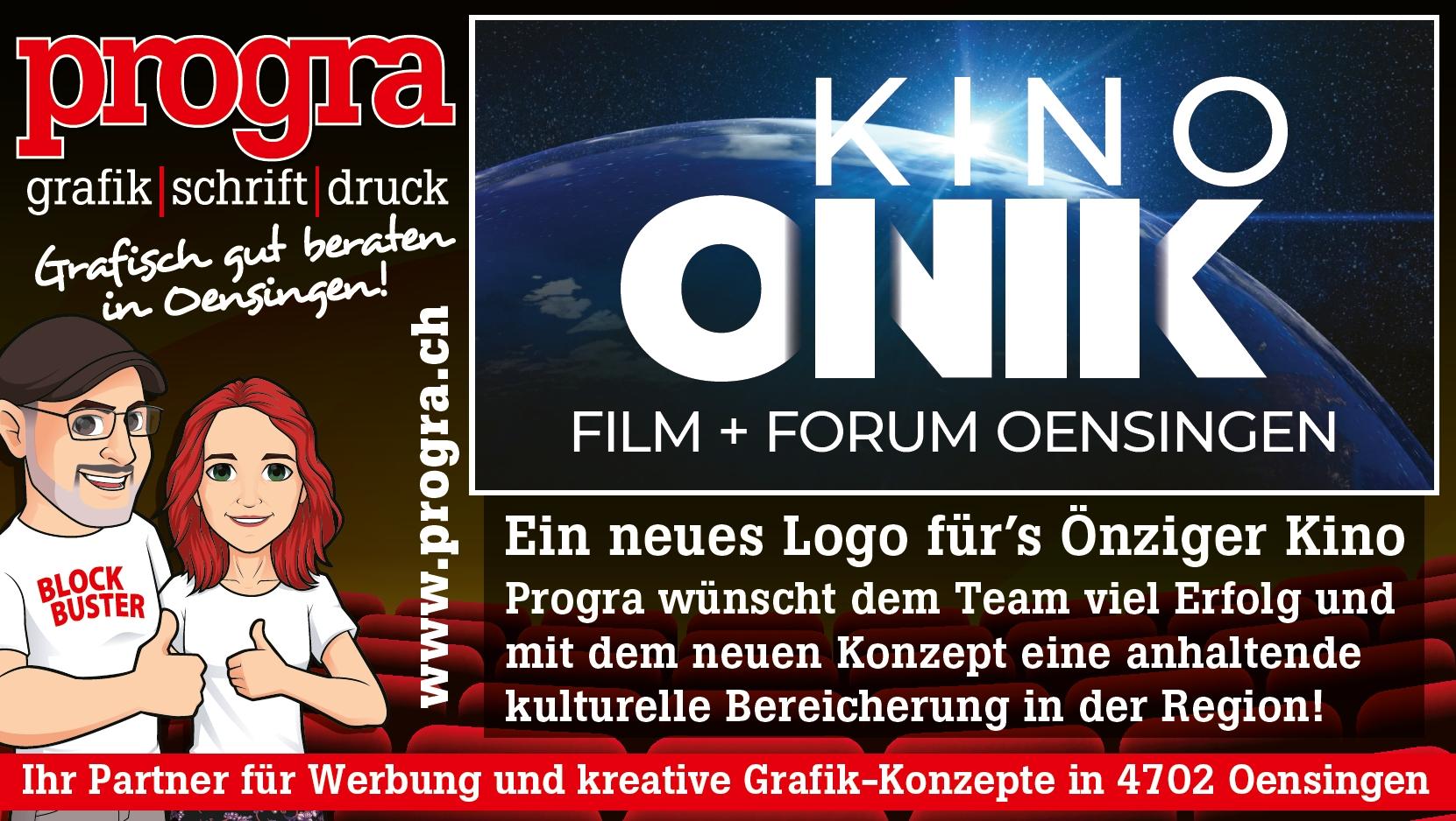 Kino Onik mit neuem Logo unterwegs