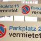 Schild für Parkplatz - progra Oensingen