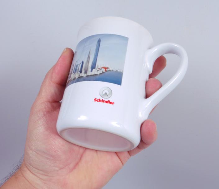 progra - Bedruckte Tassen für die Werbung