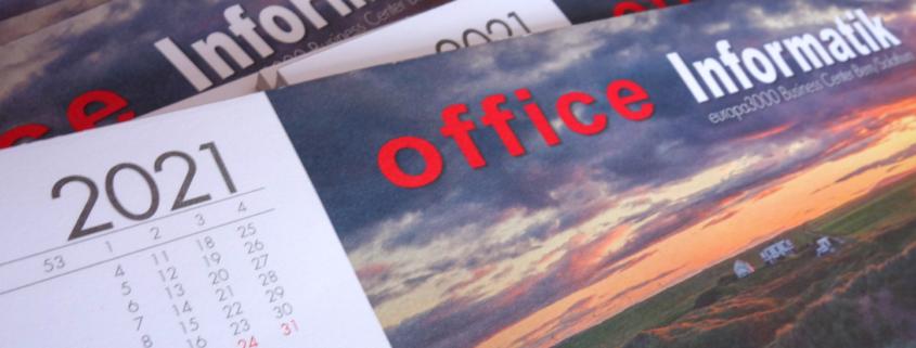 progra - Schreibtischunterlage mit Kalender aus Oensingen