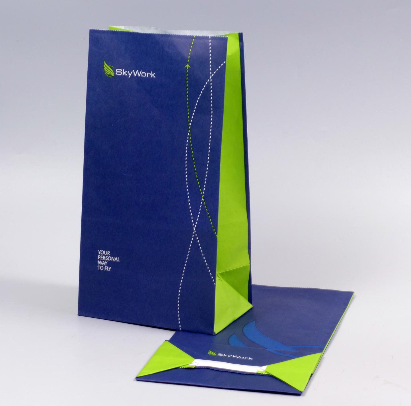 Spucktüten Druck - Vomit bag print