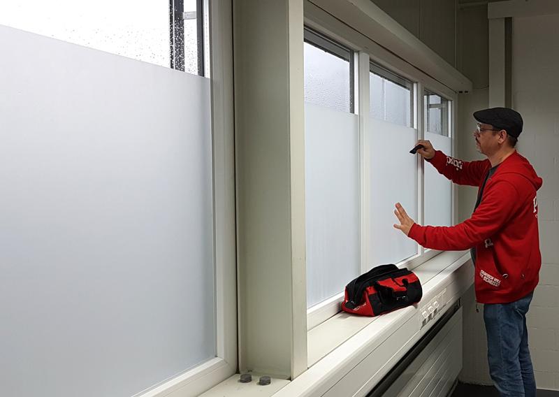 Sichtschutz Fenster Folie - progra Oensingen