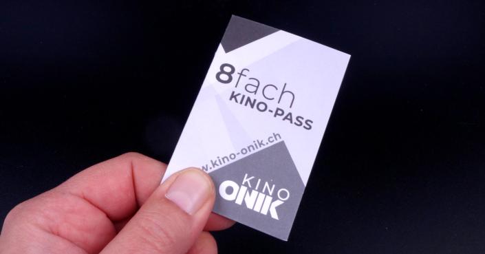 Kino Pass Sammelkarte Ticket Kinoeintritt