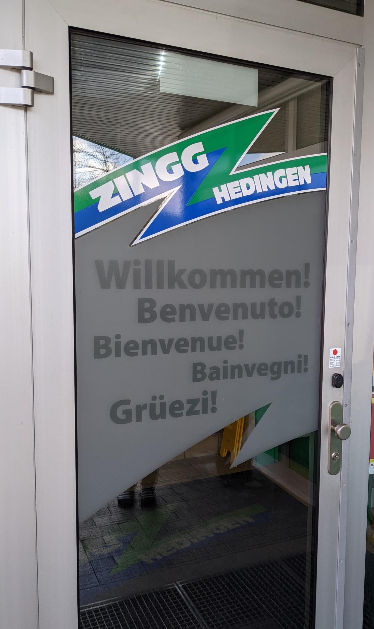 Beschriftung Türe Fenster Eingang Beschrifter Oensingen