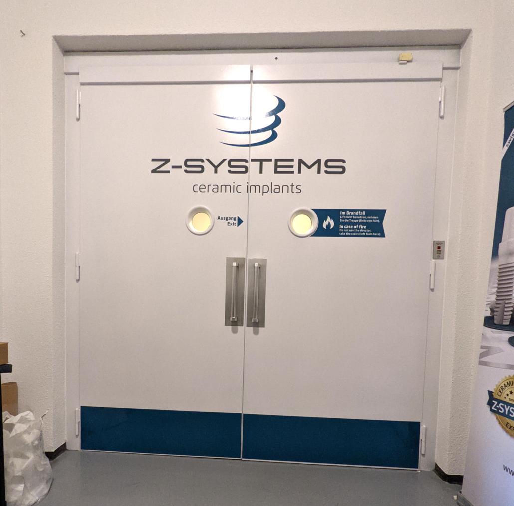 Z-Systems Firmenbeschriftung von progra Oensingen