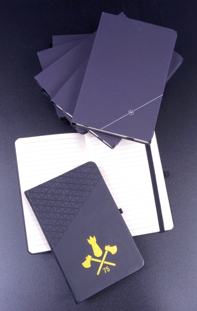 Notizbuch mit Druck - progra Oensingen