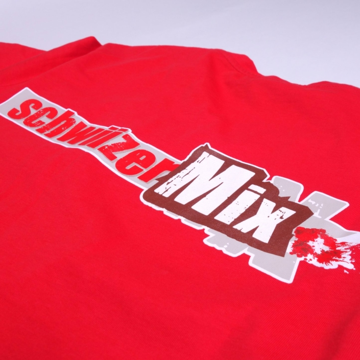 Textildruck von progra Oensingen - Für bedruckte Shirts