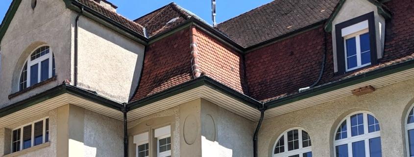 Sichtschutz Folie auf Fenster/Tüere progra Oensingen Beschriftung