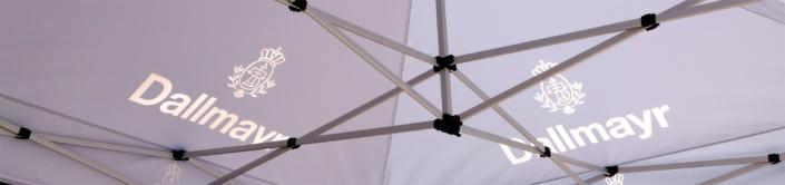 Bedruckte Zelte von progra Oensingen